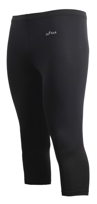 emfraa black capri yoga workout pants