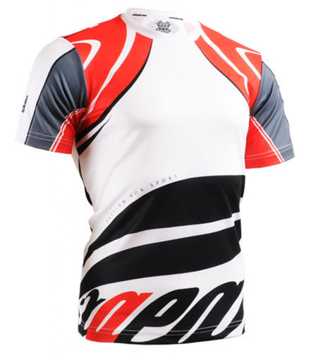 Unique design fixgear round red tshirt provide best for Cool sports t shirt designs