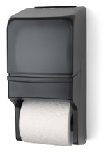 RD0025-01 Dark Translucent - Standard Double Roll Toilet Paper Holder