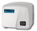 HD0903-17 White Fire Retardant Touch-Free Hand Dryer
