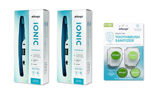 Dr. Tung's Ionic Toothbrushes and Snap-On Sanitizers Special