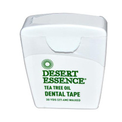 Desert Essence Tea Tree Oil Dental Tape - 30 Yds - Case Of 6