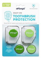 Dr. Tungs Adult SNAP ON Toothbrush Protection (Flavors Vary)