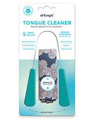Dr. Tung's Stainless Steel Tongue Cleaner with Free Travel Pouch