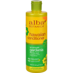 Alba Botanica Hawaiian Hair Conditioner Gardenia Hydrating - 12 Fl Oz