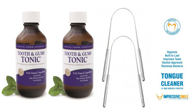 2 Bottles of Tonic + 2 Tongue Cleaners