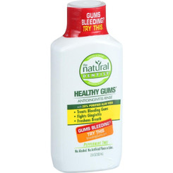 Natural Dentist Healthy Gums Peppermint Twist Antigingivitis Rinse, 2 Fluid Ounce