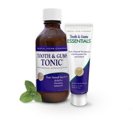 Dental Herb Company Tooth & Gums System NEW Essentials Paste and Tonic
