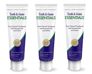 Dental Herb Company Tooth & Gums NEW Essentials Toothpaste PK-3