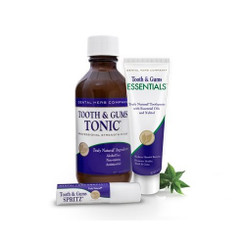 Dental Herb Company Value Pack Plus - Tonic, NEW Essentials Paste, and Spritz