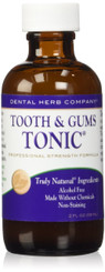 Dental Herb Company Tooth and Gums Tonic -Professional Strength formula 2 oz. (PACK 24)