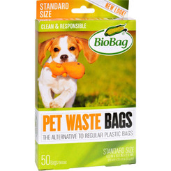 Biobag Dog Waste Bags - 50 Count - Case Of 12