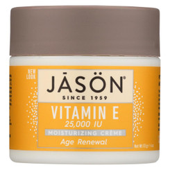 Jason Moisturizing Creme Vitamin E Age Renewal Fragrance Free - 25000 Iu - 4 Oz