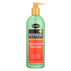 Shikai Products Borage Therapy Advanced Formula Lotion - 16 Fl Oz.