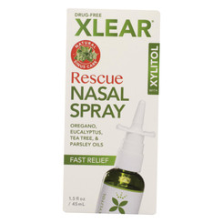 Xlear - Nasal Spray Rescue - 1.5 Oz