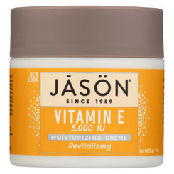 Jason Moisturizing Creme Revitalizing Vitamin E - 5000 Iu - 4 Oz