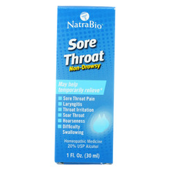 Natrabio Sore Throat - 1 Fl Oz