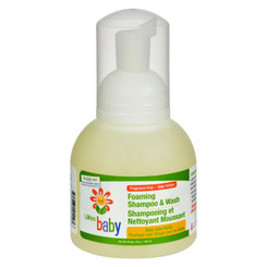 Lafe's Natural And Organic Baby Foaming Shampoo And Wash - 12 Fl Oz
