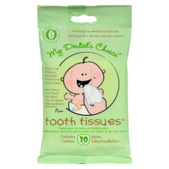 Tooth Tissues Dental Wipes - 30 Wipes