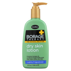 Shikai Borage Therapy Dry Skin Lotion Lightly Fragranced - 8 Fl Oz