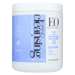 Eo Products - Hand Cleansing Wipes - Lavender - 210 Pack