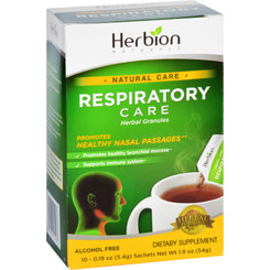 Herbion Naturals Respiratory Care - Natural Care - Herbal Granules - 10 Packets