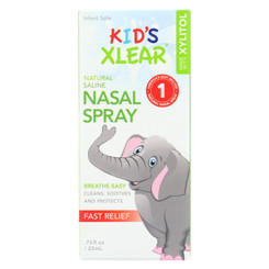 Xlear - Nasal Spray Sinus Kids -.75 Fz