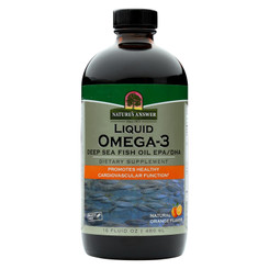 Nature's Answer - Liquid Omega-3 Fish Oil - 16 Fl Oz