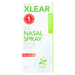Xlear - Nasal Spray Sinus Single - .75 Fz
