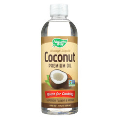 Nature's Way - Coconut Premium Oil - Liquid - 20 Fl Oz.
