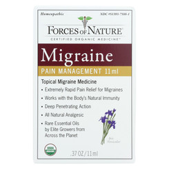Forces Of Nature - Organic Migrane Pain Management - 11 Ml