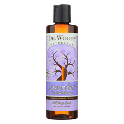 Dr. Woods Shea Vision Pure Castile Soap Lavender With Organic Shea Butter - 8 Fl Oz