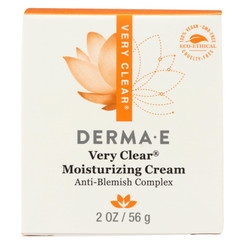 Derma E - Very Clear Problem Skin Moisturizer - 2 Fl Oz.