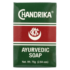 Chandrika Soap Ayurvedic Herbal And Vegetable Oil Soap - 2.64 Oz - Case Of 10