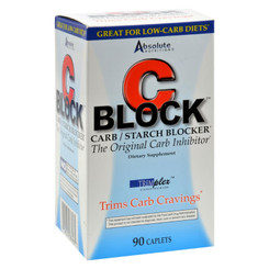 Absolute Nutrition - C Block Carb And Starch Blocker - 90 Caplets