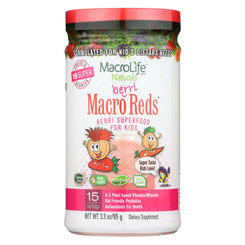 Macrolife Naturals Jr. Macro Reds For Kids Berri - 3.3 Oz