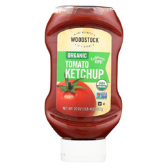 Woodstock Organic Tomato Ketchup - Case Of 12 - 20 Oz.