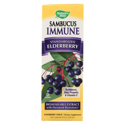 Nature's Way - Sambucus Immune Syrup - 8 Fl Oz