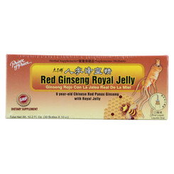 Prince Of Peace Red Ginseng - Royal Jelly - 10 Cc - 30 Count
