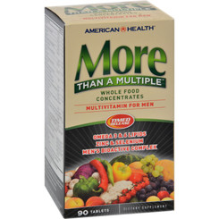 American Health - More Than A Multiple Whole Food Concentrates For Men - 90 Tablets