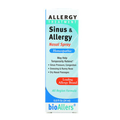 Bio-allers - Sinus And Allergy Relief Nasal Spray - 0.8 Fl Oz