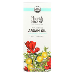 Nourish Organic Argan Oil - Replenishing Multi Purpose - 3.4 Oz