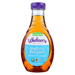 Wholesome Sweeteners Blue Agave - Organic - 23.5 Oz - Case Of 6