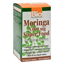 Bio Nutrition - Moringa - 5000 Mg - 90 Ct