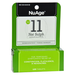 Hyland's Nuage No 11 Natrum Sulph - 125 Tablets
