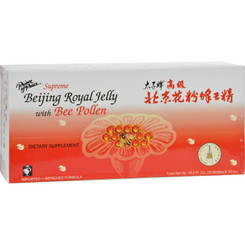 Prince Of Peace Supreme Beijing Royal Jelly With Bee Pollen - 30 Bottles