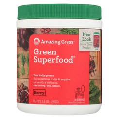 Amazing Grass Green Superfood - Berry - 30 Servings - 8.5 Oz.