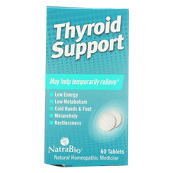 Natrabio Thyroid Support - 60 Tablets