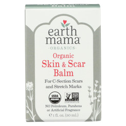 Earth Mama - Organic Skin And Scar Balm - 1 Fl Oz.