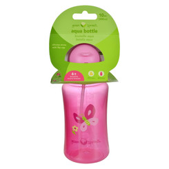 Green Sprouts Aqua Bottle - Pink - 1 Ct